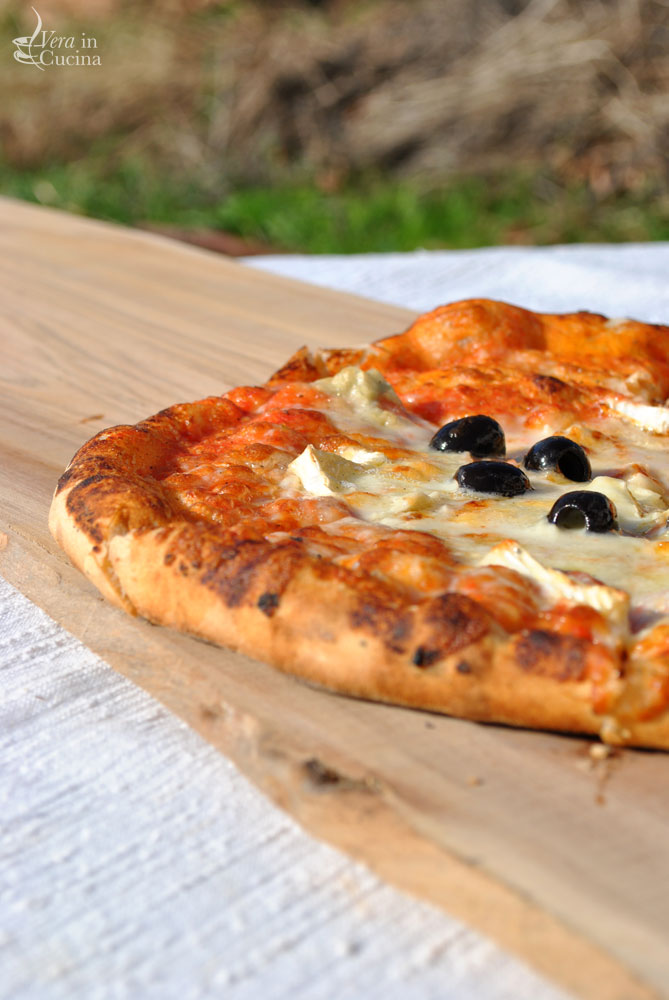 La pizza della domenica vera in cucina - Temperatura forno a legna pizza ...