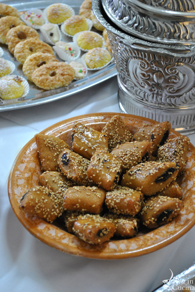 Dolci Tunisini Makroud.Pane Arabo