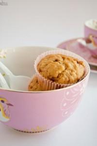 Muffin allo yogurt, vaniglia e un pizzico di limone