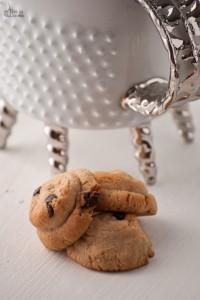 Biscotti cioccolato e burro di arachidi