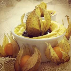 Tortino arancia, cannella e cioccolato