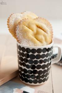 Crostatine di mela e vaniglia