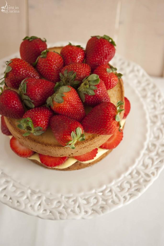 torta crema e fragole 0028