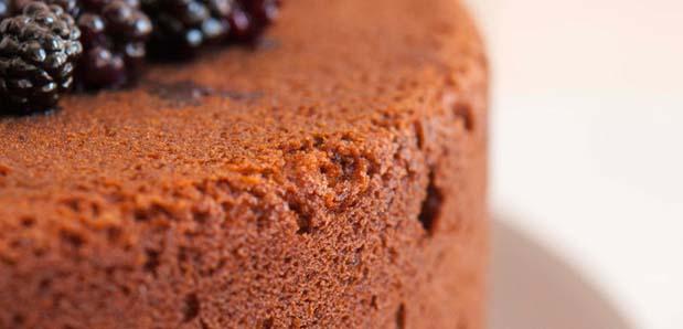 Torta al cioccolato e miele di lavanda selvatica