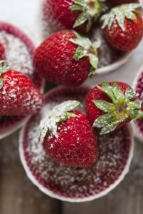 Tortine di ricotta e fragole