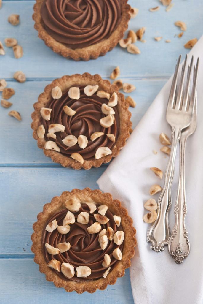 crostatine al cioccolato e nocciole 4095