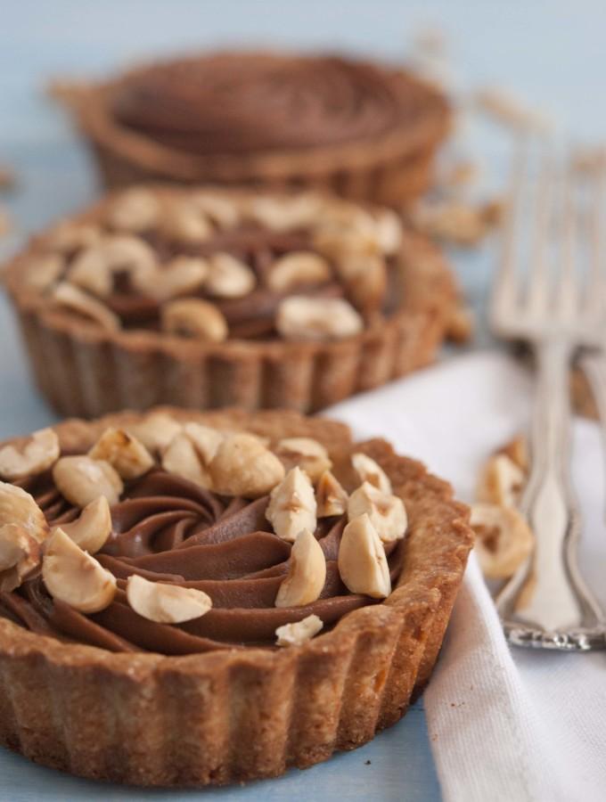 crostatine cioccolato e nocciole 4109