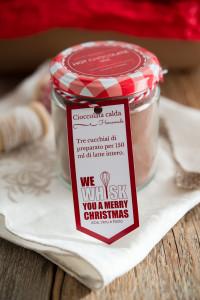 Regali golosi: preparato per cioccolata calda alla vaniglia